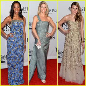 Nikki M. James & Kelli O'Hara - Tony Awards 2012 Red Carpet