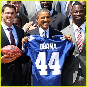 President Obama Honors The New York Giants