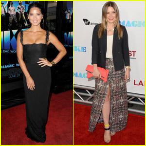 Olivia Munn & Sophia Bush: 'Magic Mike' Premiere!