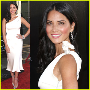 Olivia Munn: 'The Newsroom' Premiere