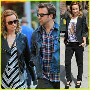 Olivia Wilde: 'People Like Us' on Letterman!