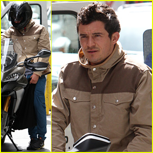 Orlando Bloom: Ducati Man!