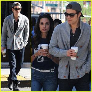 Paul Wesley & Torrey DeVitto: Starbucks Couple!
