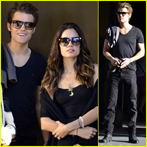 Paul Wesley & Torrey DeVitto: 'Venus in Fur' Date!
