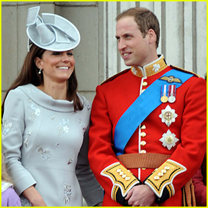 Prince William & Duchess Kate: Trooping the Colour Ceremony