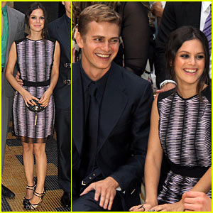 Rachel Bilson & Hayden Christensen: Versace Show at Milan Fashion Week!