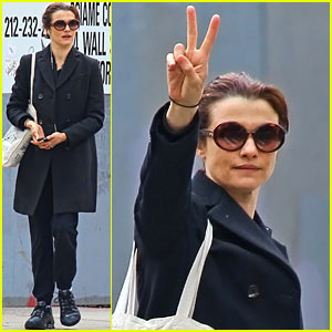 Rachel Weisz Gets Peaceful in NYC