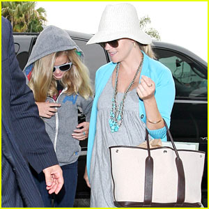 Reese Witherspoon: LAX Airport with Ava