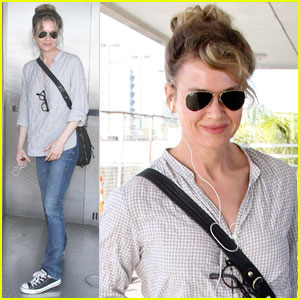 Renee Zellweger Treats Family to J.Crew Shopping Spree