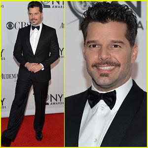 Ricky Martin - Tony Awards 2012 Red Carpet