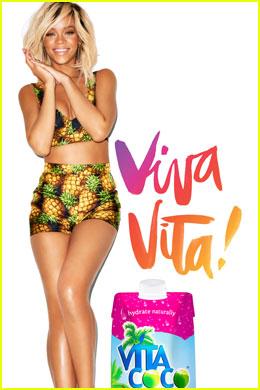 Rihanna: New Vita Coco Ad Campaign!