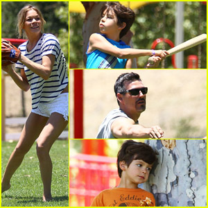 LeAnn Rimes: Father's Day in the Park!