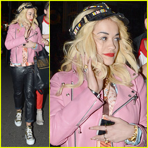 Rita Ora: 'Enjoying Life with My Babies!'