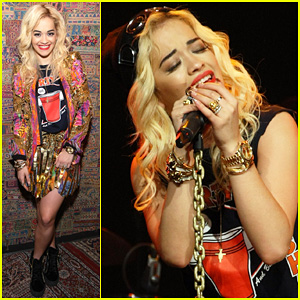 Rita Ora: New York Vevo Lift Concert!