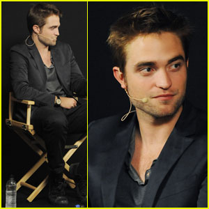 Robert Pattinson: 'Cosmopolis' Apple Q&A!