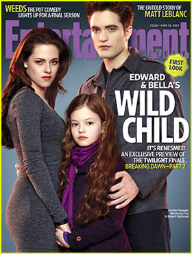 Kristen Stewart & Robert Pattinson Debut Renesmee on 'EW'