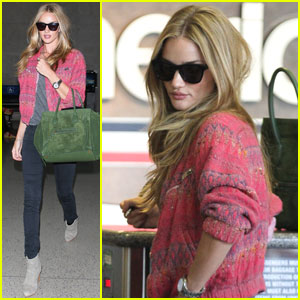 Rosie Huntington-Whiteley: Airport Chic