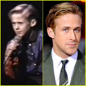 Watch 10-Year-Old Ryan Gosling Sing & Dance!