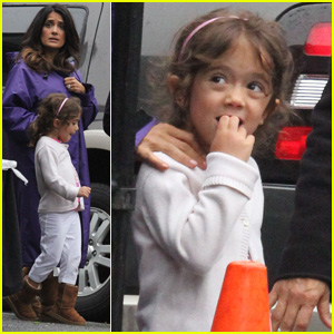 Salma Hayek & Valentina: Out to Lunch!