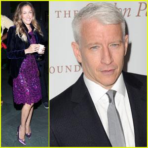 Sarah Jessica Parker & Anderson Cooper: Gordon Parks Gala!