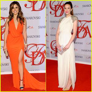 Sophia Bush & Mandy Moore - CFDA Fashion Awards 2012