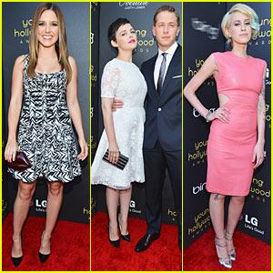 Sophia Bush & Ginnifer Goodwin: Young Hollywood Awards!