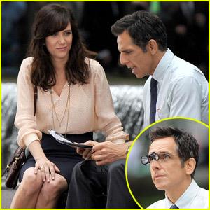 Kristen Wiig: 'Walter Mitty' Set with Ben Stiller!
