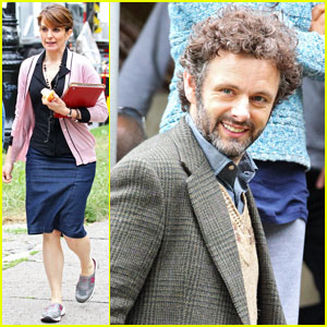 Tina Fey: 'Admission' Set with Michael Sheen!
