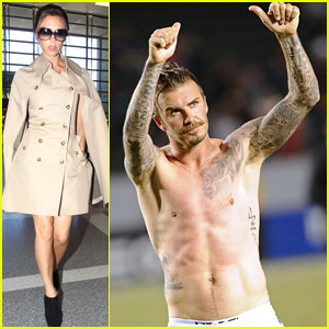 David Beckham: Shirtless Soccer Stud