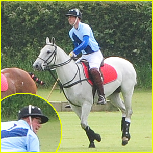 Prince Harry & Prince William: Charity Polo Match