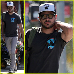 Zac Efron: West Hollywood Stroll