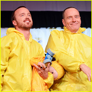 Aaron Paul & Bryan Cranston: 'Breaking Bad' at Comic-Con!