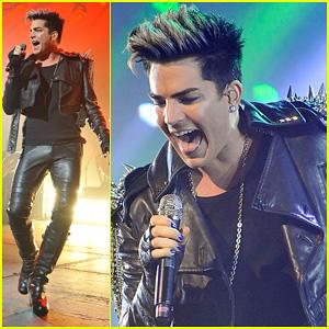 Adam Lambert: Hammersmith Apollo with Queen!