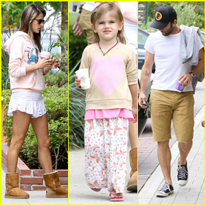 Alessandra Ambrosio & Jamie Mazur: Coffee Bean Stop with Anja
