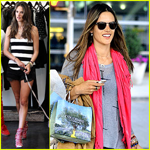 Alessandra Ambrosio Set for Olympics Closing Ceremony!
