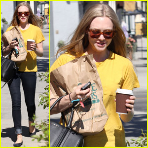 Amanda Seyfried: Friday Food Shopping!