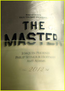Amy Adams & Joaquin Phoenix: 'The Master' Poster!
