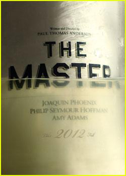 Amy Adams & Joaquin Phoenix: 'The Master' Poster!
