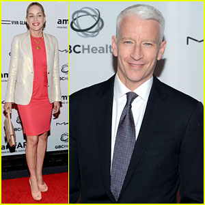 Anderson Cooper & Sharon Stone: Together to End AIDS