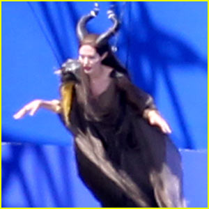 Angelina Jolie: Back To Work on 'Maleficent'!