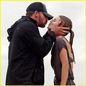 AnnaLynne McCord: Birthday Kiss from Dominic Purcell!