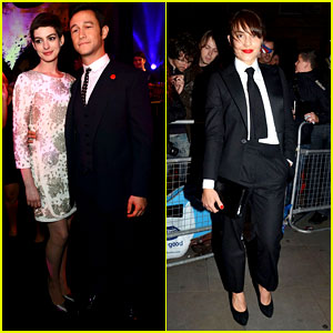 Anne Hathaway & Noomi Rapace: 'Dark Knight Rises' Party!