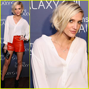 Ashlee Simpson: Samsung Galaxy Celebration!