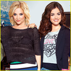 Ashley Benson & Lucy Hale: Bongo Campaign Photos!