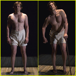 Bradley Cooper: Shirtless for 'Elephant Man'