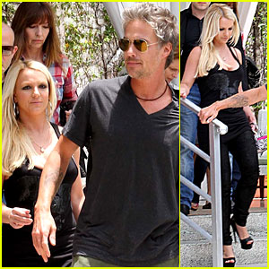 Britney Spears & Jason Trawick: 'X Factor' Work Continues!