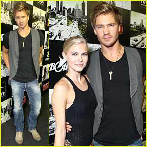 Chad Michael Murray: Comic-Con Party with Kenzie Dalton!