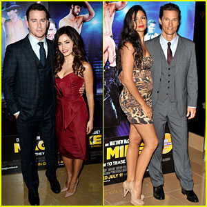 Channing Tatum & Matthew McConaughey: 'Magic Mike' London Premiere!