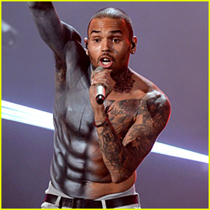 Chris Brown Shirtless 2012 Chris Brown Shirtless for BET