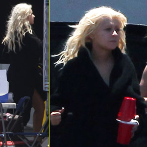 Christina Aguilera: 'The Voice' Studio Arrival